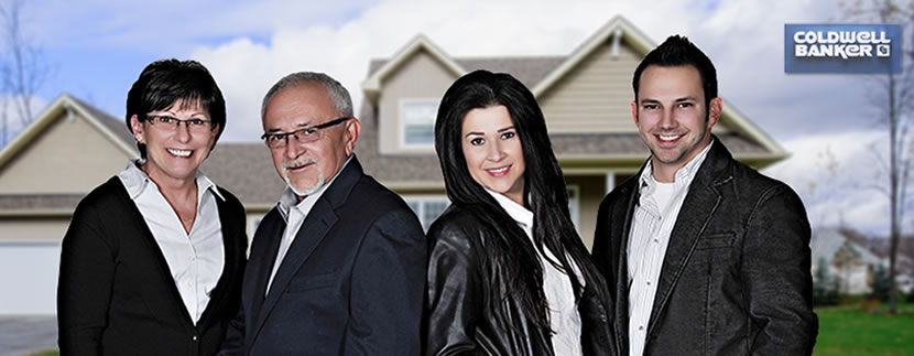 the realtors at the Gibeau team
